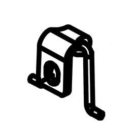 RecMar (16) Parsun Seat, Locking Hook F6A (F5A) B (PAF4-05000020)