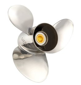 Solas Stainless Steel Propeller 3 Blades Mercury / Mariner / Honda 60/70 HP Bigfoot 75 to 125 HP 15 tooth spline