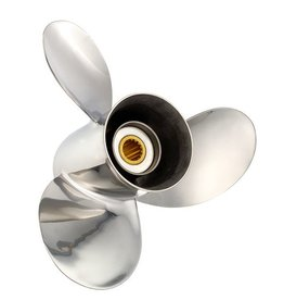 RVS propeller 3 blads Mercury/Honda 135 t/m 300 pk Mercruiser-Alpha/Bravo 15 tooth spline