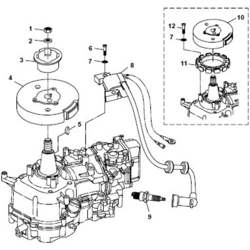 Parsun Outboard Engine F6A (F5A) B Electrical Parts