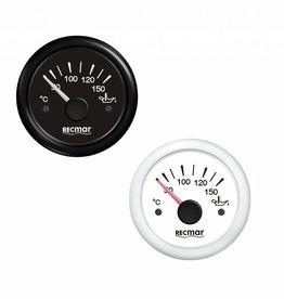 Olie Temperatuur meter Zwart/Wit 50-150ºC