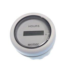 RecMar Hourmeter black/white