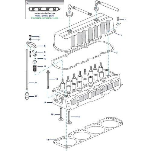 General Motors Cylinder Head 181 CID, 3.0L & 250 CID, 4.1L Parts