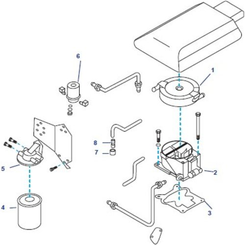 Benzine circuit onderdelen GM General Motors, V8, 5.0 & 5.7L Small Block