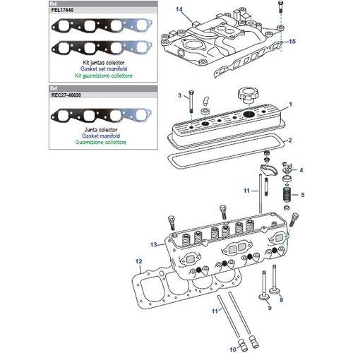 General Motors Cylinder Head V8 7.4L / 8.2L Big Block Parts