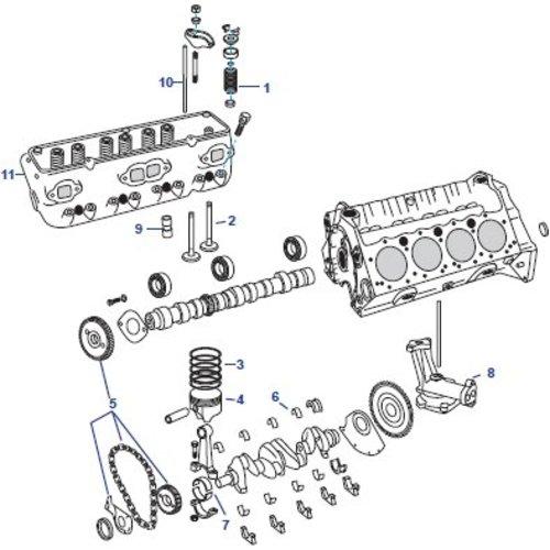 General Motors Ford Block Engine 302/5.0L and 351/5.6L Parts