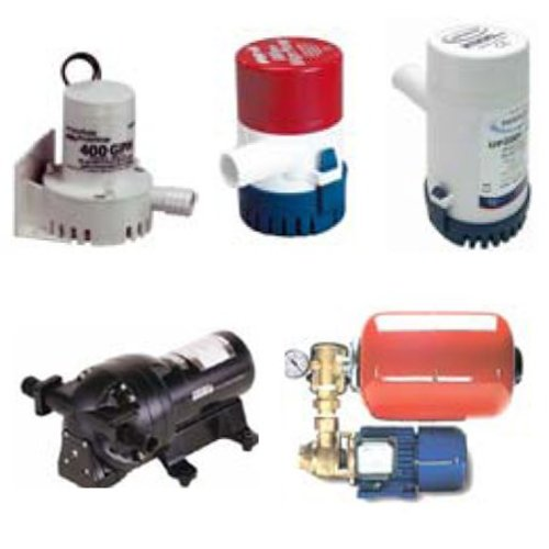 Air, Bilge, Water & Service Pumps