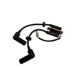 RecMar Yamaha/Mercury/Mariner/Parsun Ignition Coil C25 96,97, F6, F8/T8, F9.9/F15 HP to F40 HP (855685T, 66M-85570-00)