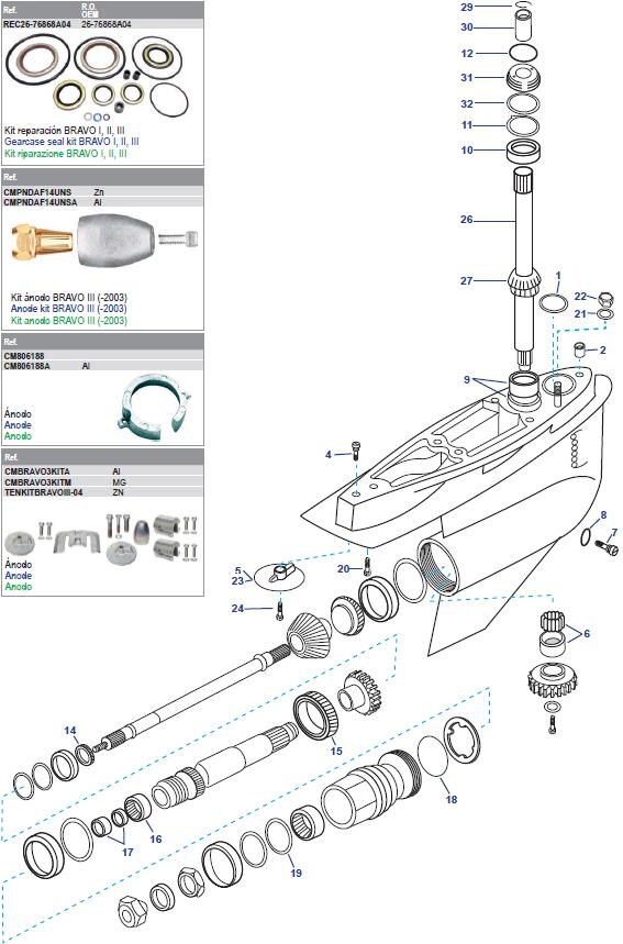 New Mercury Mercruiser Quicksilver OEM Part # 10-806327 SCREW