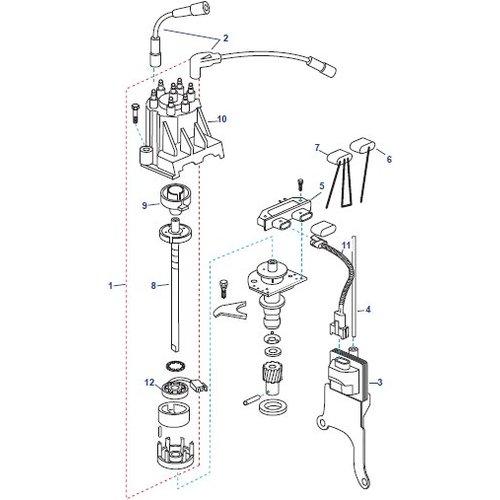 Mercruiser Distributor Delco Voyager Parts