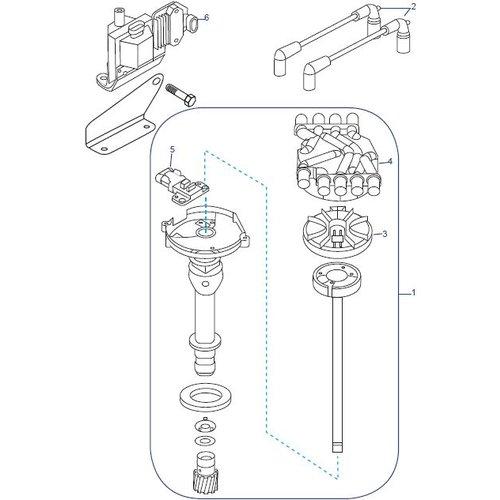 Mercruiser Distributor MPI V6 & V8 onderdelen