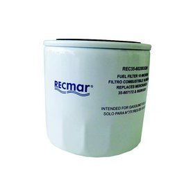 RecMar Mercruiser Fuel Filter (35-604941, 35-802893Q01, 35-8052691, 35-806771, 802893Q01)