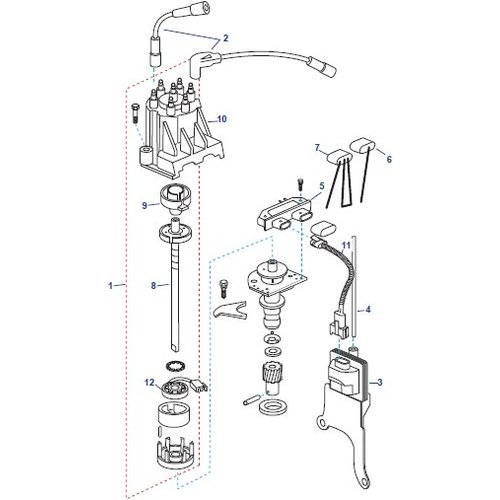 Mercruiser Distributor onderdelen