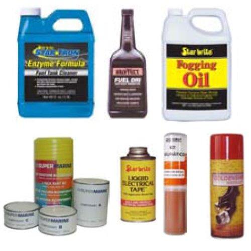Reparatie, Verf, Smeermiddelen & Motoronderhoud