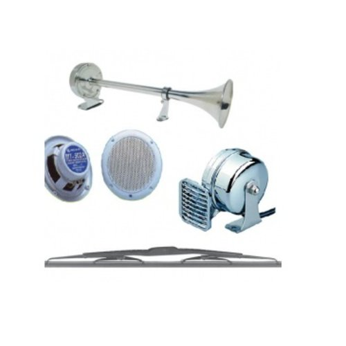 Loudspeakers, Radios, Antenna Bases, Horns, Wipers and Accessories