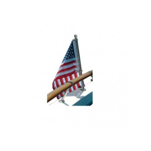 Vlag, Vlagstok en vlaghouder