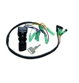 RecMar Yamaha Ignition Switch 2-stroke / 4-stroke, press for choke (REC 703-82510-44)