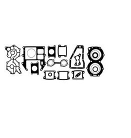 RecMar (1) Yamaha Gasket Kit C55 HP 89-91, CV55 HP 89 (REC697-W0001-02)