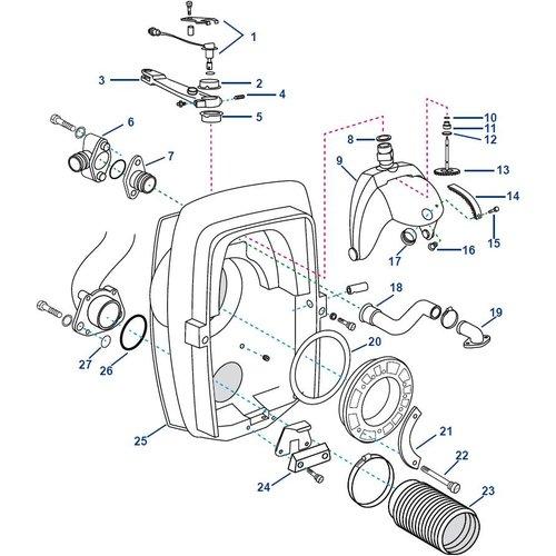 Volvo Penta Transom Shield DP-S
