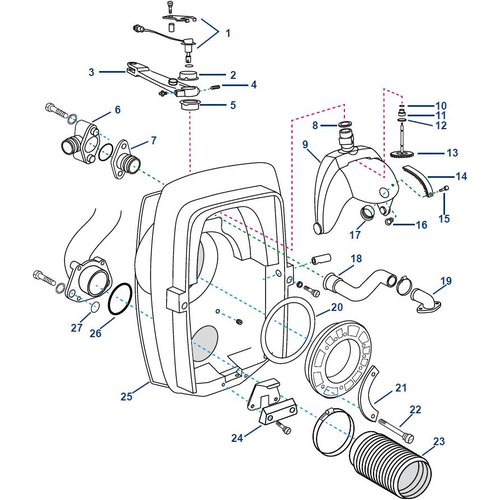 Volvo Transom Shield DP-S