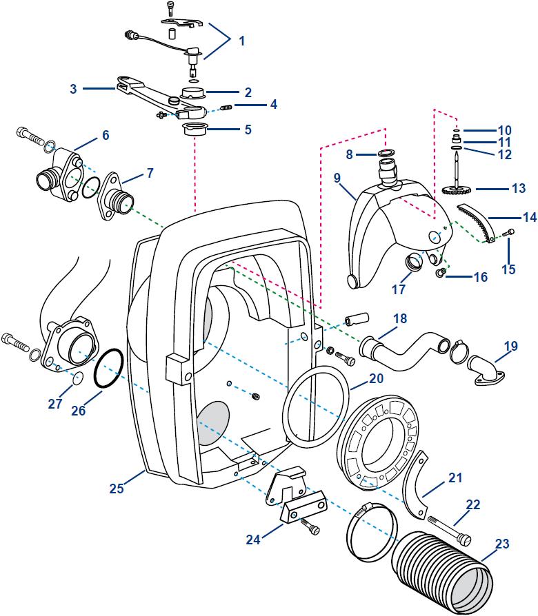Volvo Transom Shield Dp S