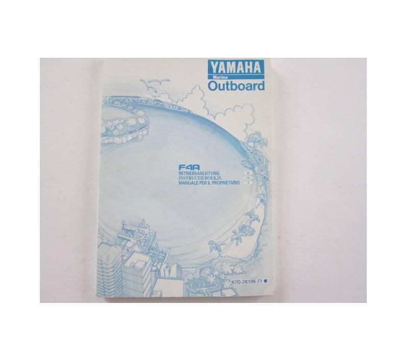 Owner's manual F4A (67D-28199-71)