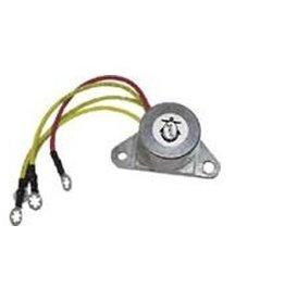 Protorque OMC gelijkrichter 6-10Amp 50 pk 71-75, 60 pk (F) 89-91 65 pk + | (PH350-0001)
