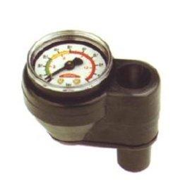 Golden Ship Monometer voor het regelen van druk, montage tussen de slang