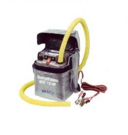 Elektrische luchtpomp cap: 450 L/min 12V met handige draagtas