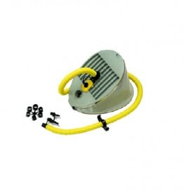Voet pomp hogere druk/minder inspanning cap. 5 L