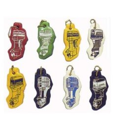 Golden Ship Floating key ring different brands of outboard engine