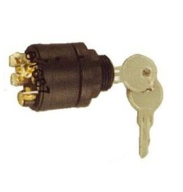 Golden Ship Plastic ignition starter switch (6mm) 7 terminals, 4 positions (GS11156)