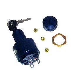 Contactslot kunstof 3 posities uit-ontsteking-start voor panelen tot 15mm (MP41030)