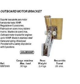 Golden Ship Outboard motor bracket up to 10 hp (GS73101)