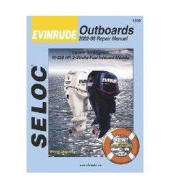 Seloc Johnson/Evinrude Buitenboordmotoren Werkplaatshandboeken (verschillende modellen)