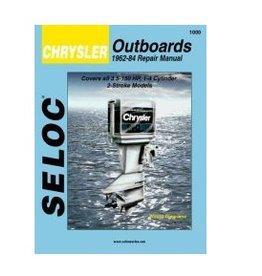 Seloc Force/Chrysler Buitenboordmotoren Werkplaatshandboeken (verschillende modellen)