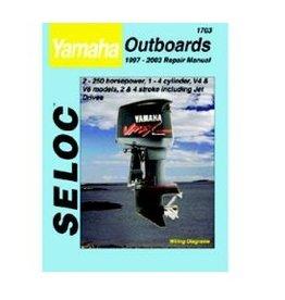 Seloc Yamaha Buitenboordmotoren Werkplaatshandboeken (verschillende modellen)