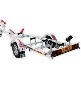 Damco kwaliteits trailer DK 750 kantelbaar 5 jaar garantie