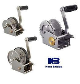 "Kent Bridge Manual ""stainless steel"" winch different capacities"