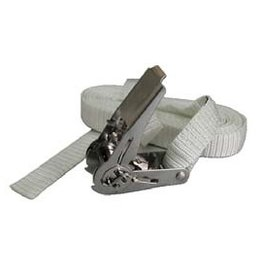 Spanband polyster  6 meter RVS ratel hendel