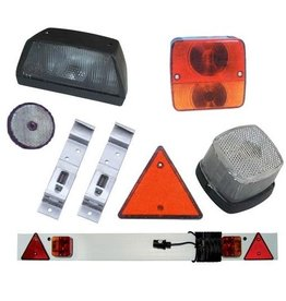 Goldenship Trailer lighting + license plate holders NOTE MENU CHOICE
