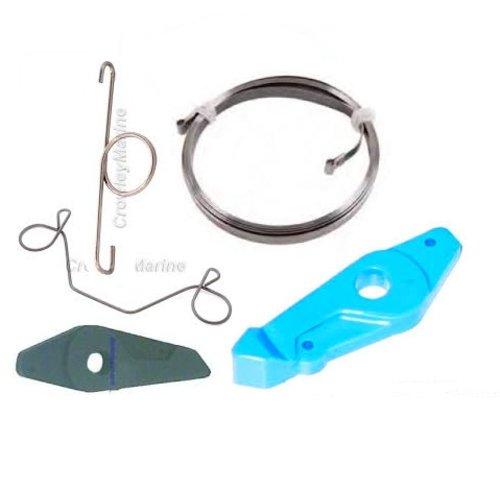 Johnson / Evinrude Veren, starter pawls, rewind springs voor repeteerstarter