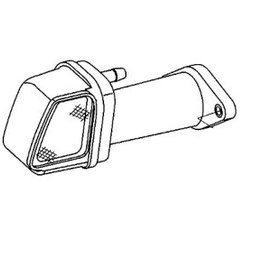 RecMar Yamaha/Parsun SILENCER ASSY INTAKE F6, F8 & F9.8 (PAF8-05060000)