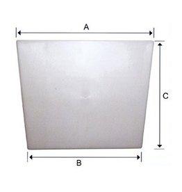 Spiegel beschermingsplaat 8 of 15 mm dik