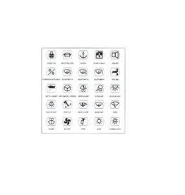 25 zelfklevende labels voor schakelaar