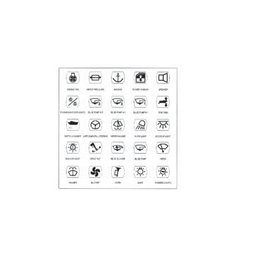 Golden Ship 25 self-adhesive labels for switch