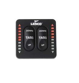 Lenco Schakelaar voor trim tabs kit voor 2 of 4 cilinders