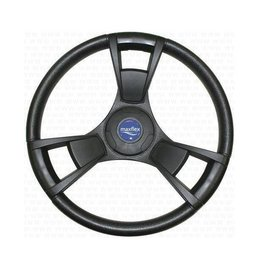 Steering wheel pismo black- 350 mm
