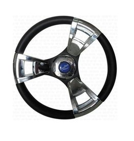 Steering wheel hermosa chromed - 350 mm