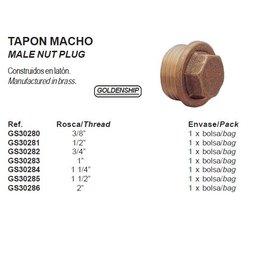Male nut plug